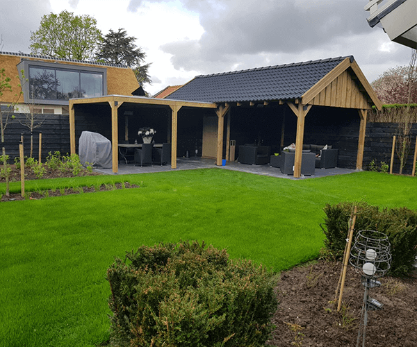 Grote Moderne Tuin : Grote tuin indelen. elegant affordable functie en kostprijs with