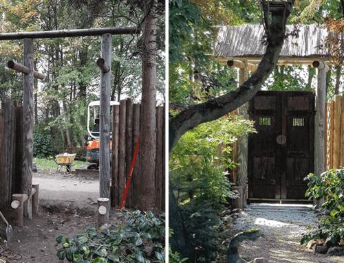 Betoverende oosterse tuinpoort met uniek hekwerk | Dordrecht