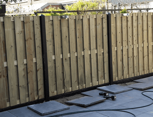5 Voordelen van een beton houten schutting