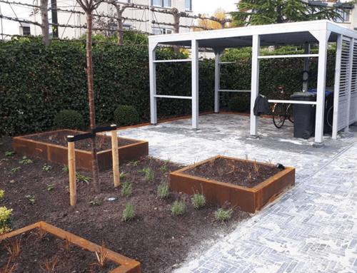 Meer zitplaatsen in Dordtse tuin