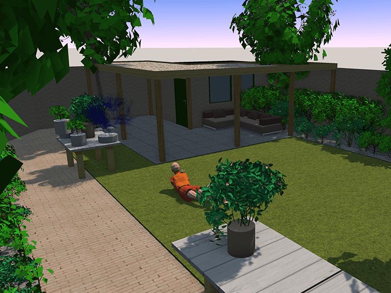 3D tuinontwerp